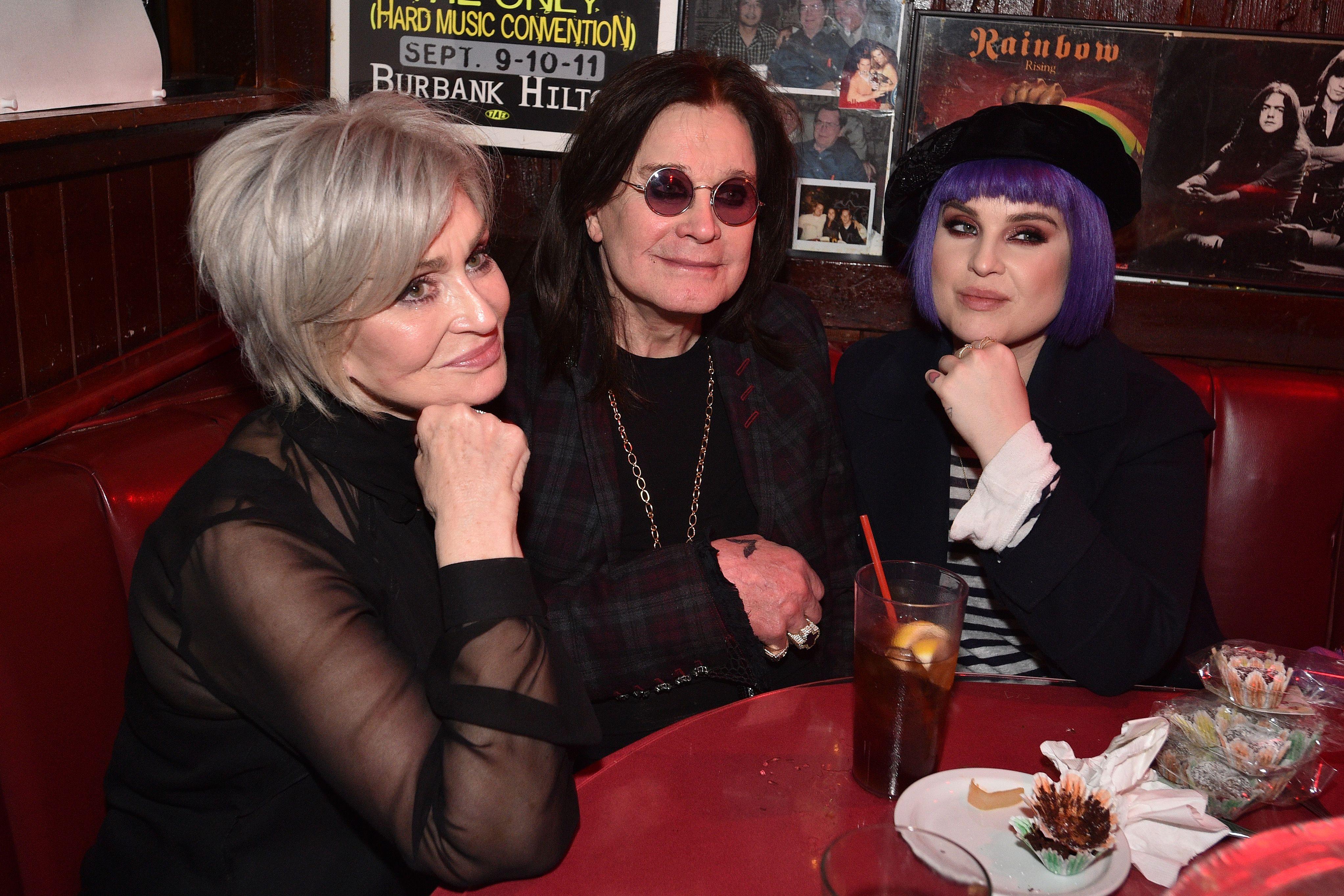Sharon Osbourne Ozzy Osbourne Kelly Osbourne