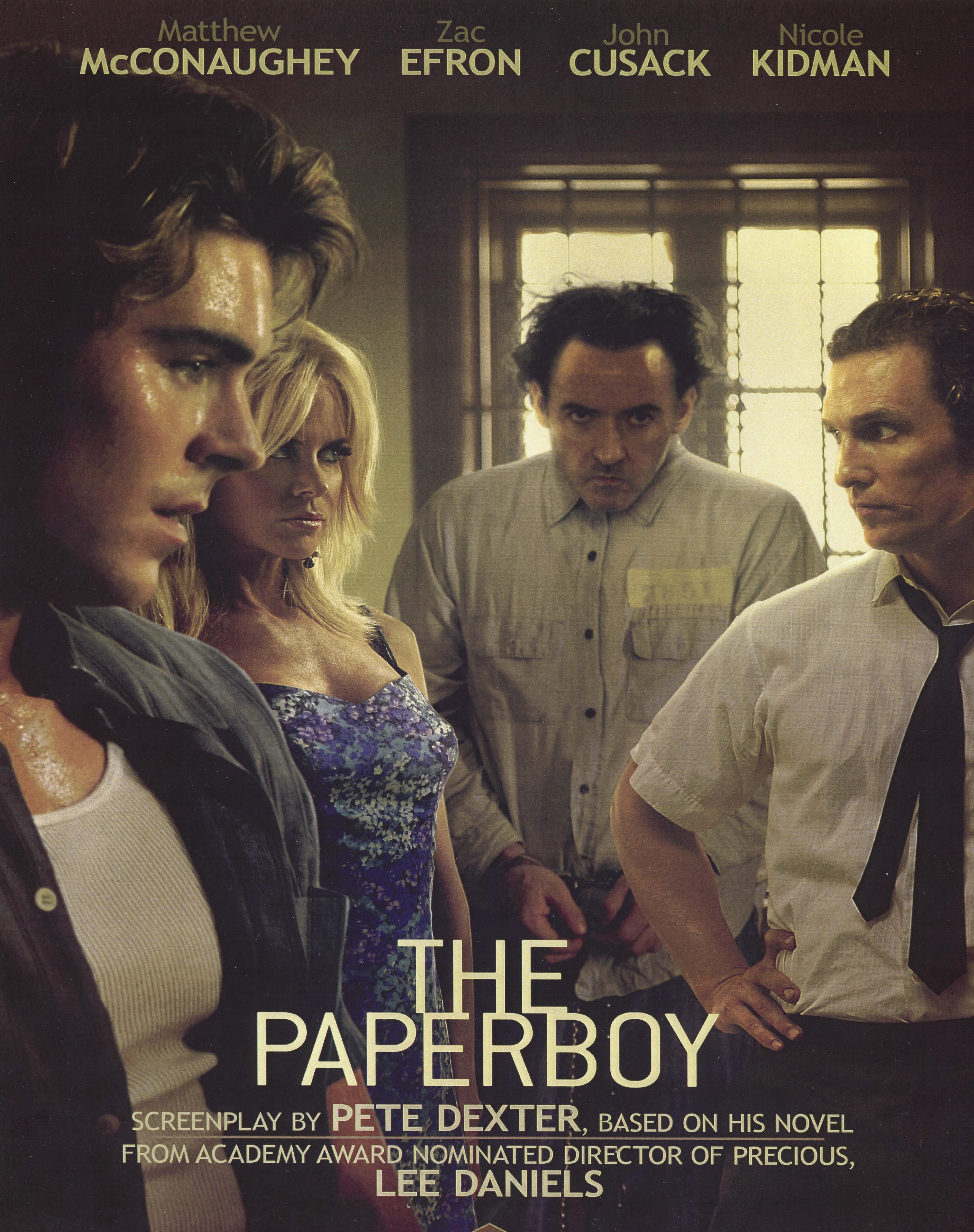 Zac Efron, Nicole Kidman, John Cusack, Matthew McConaughey, The Paperboy