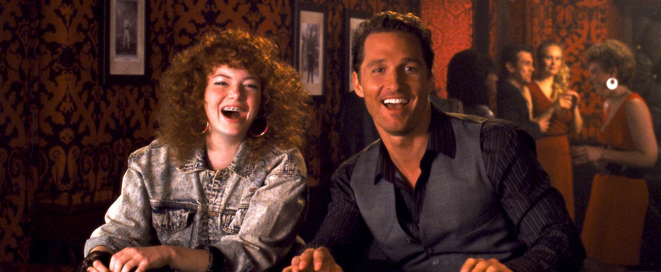 Emma Stone, Matthew McConaughey, Ghosts Of Girlfriends Past