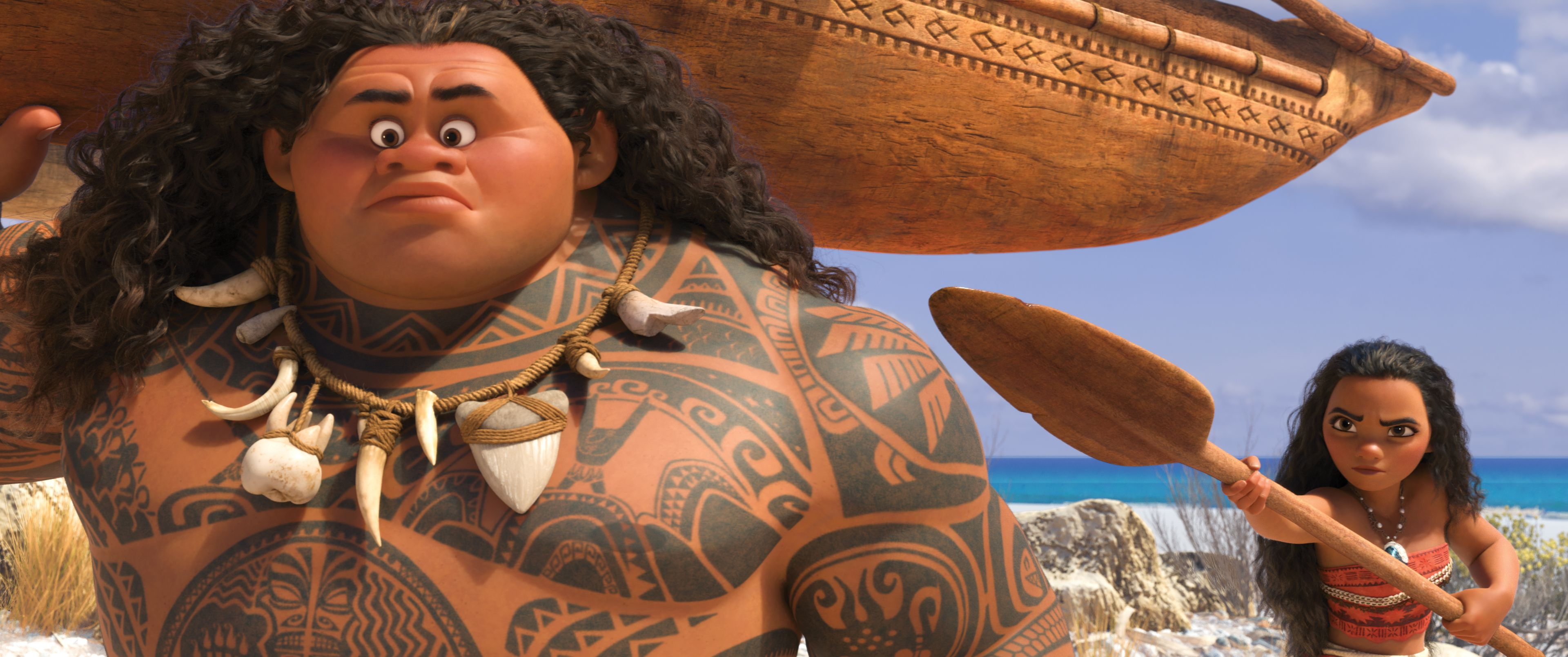 Dwayne Johnson, Moana