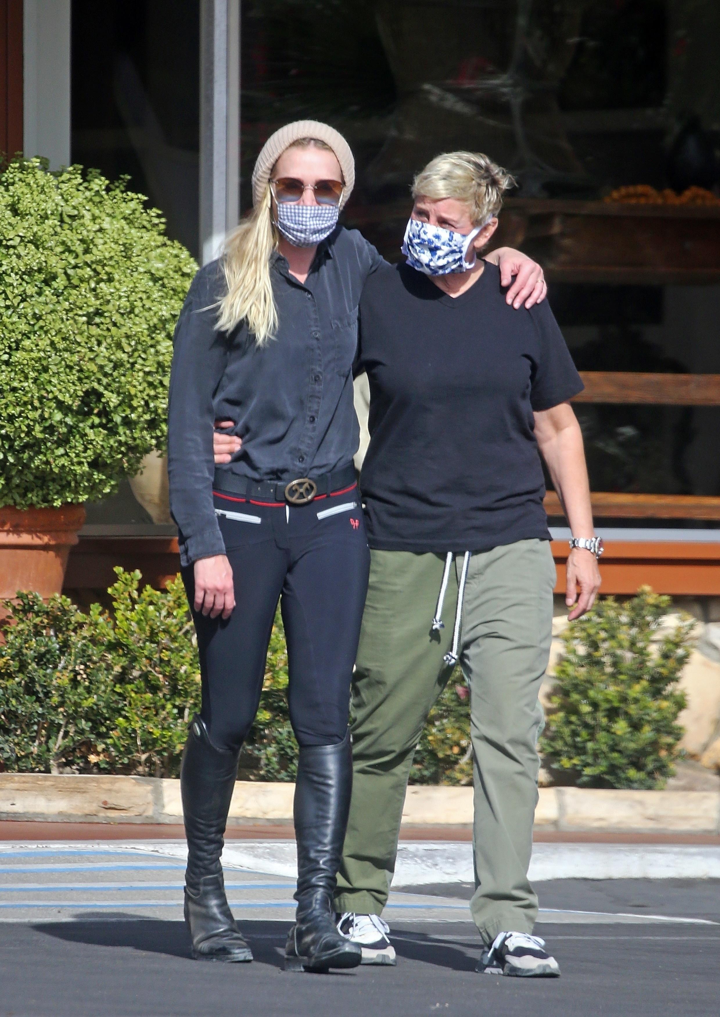 Ellen DeGeneres, Portia de Rossi *EXCLUSIVE*