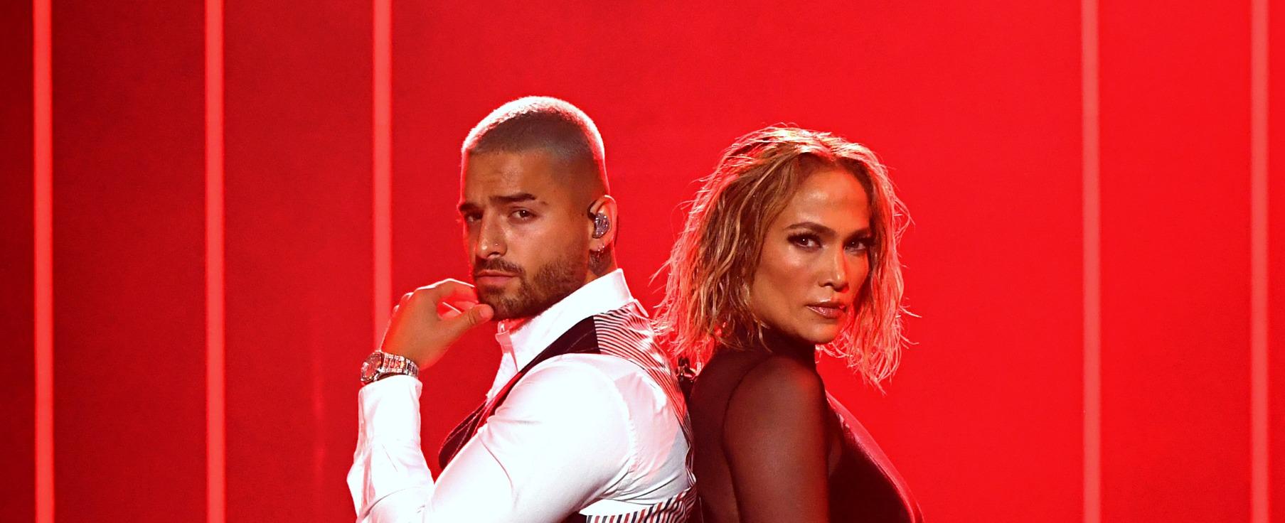 Maluma Jennifer Lopez