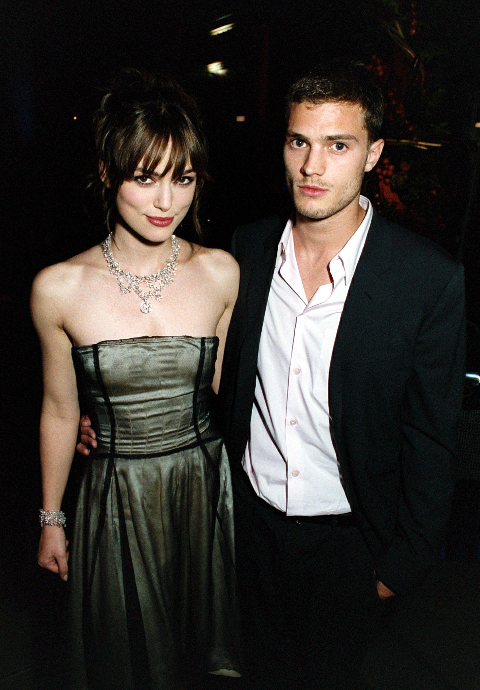 Keira Knightley, boyfriend Jamie Dornan