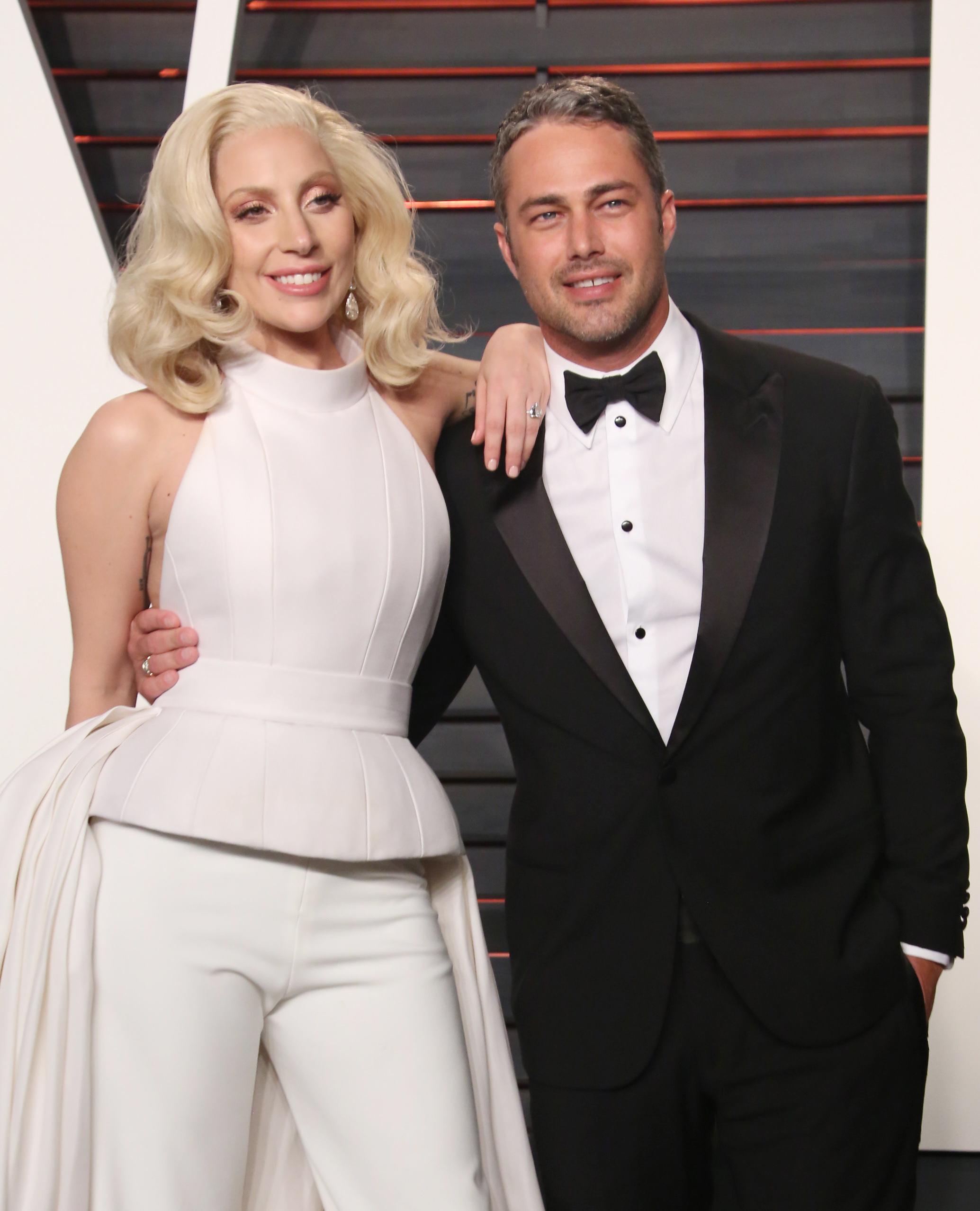 Lady Gaga, ex boyfriend Taylor Kinney