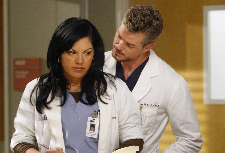 Sara Ramirez, Eric Dane, Grey's Anatomy