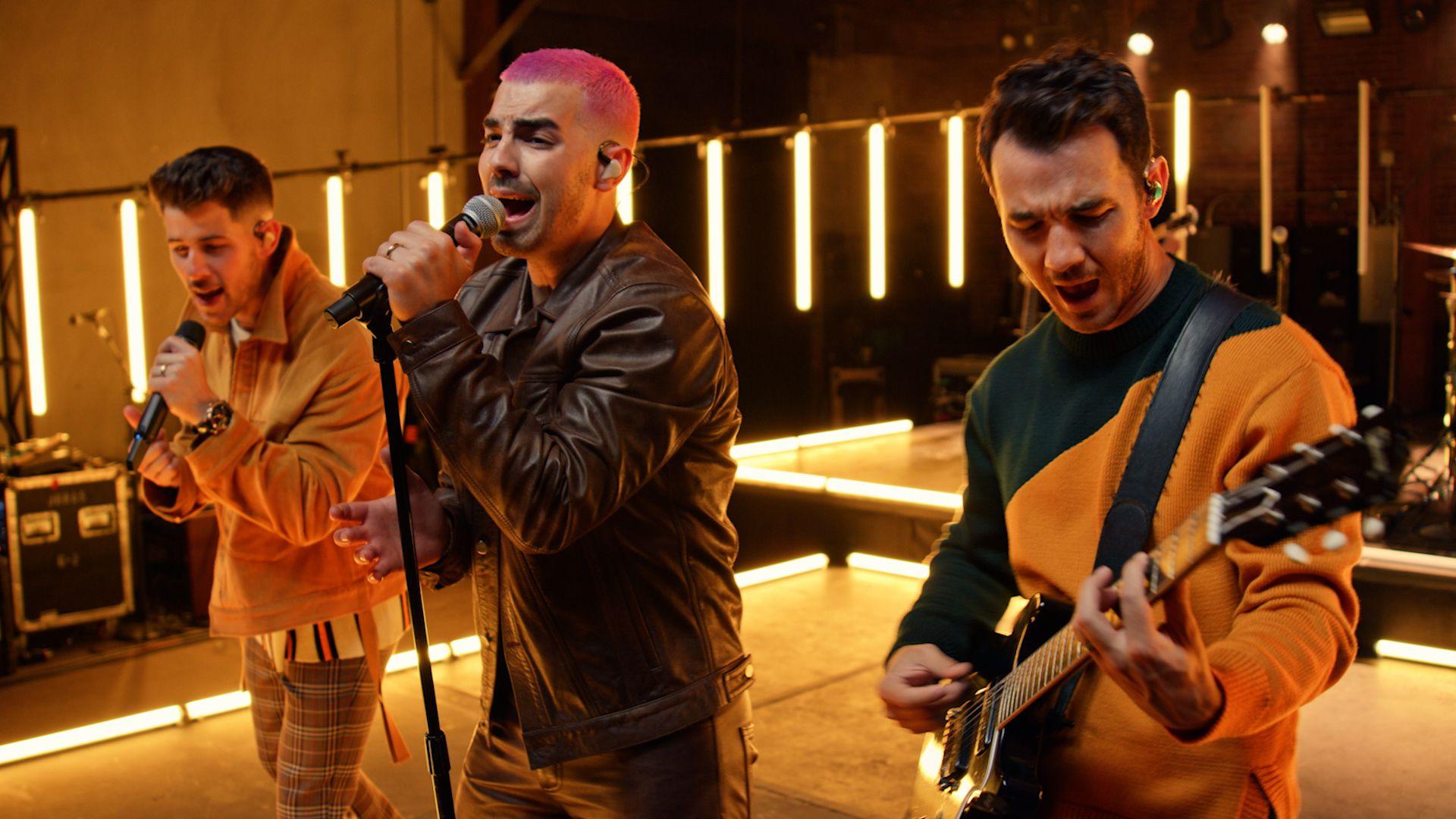 The Jonas Brothers virtual concert
