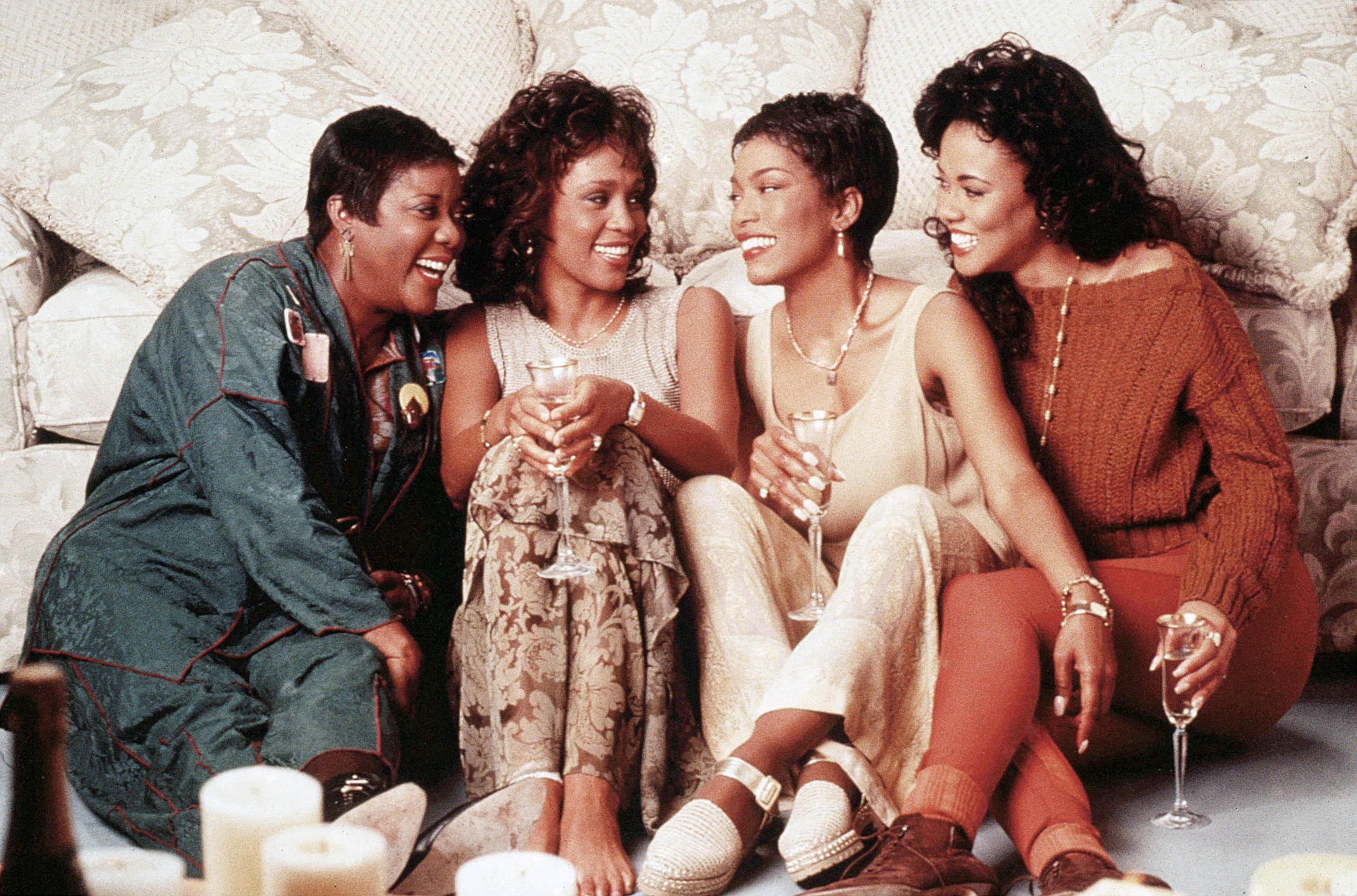Loretta Devine, Whitney Houston, Angela Bassett, Lela Rochon, Waiting to Exhale