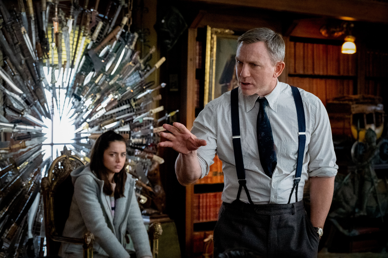 Ana de Armas, Daniel Craig, Knives Out