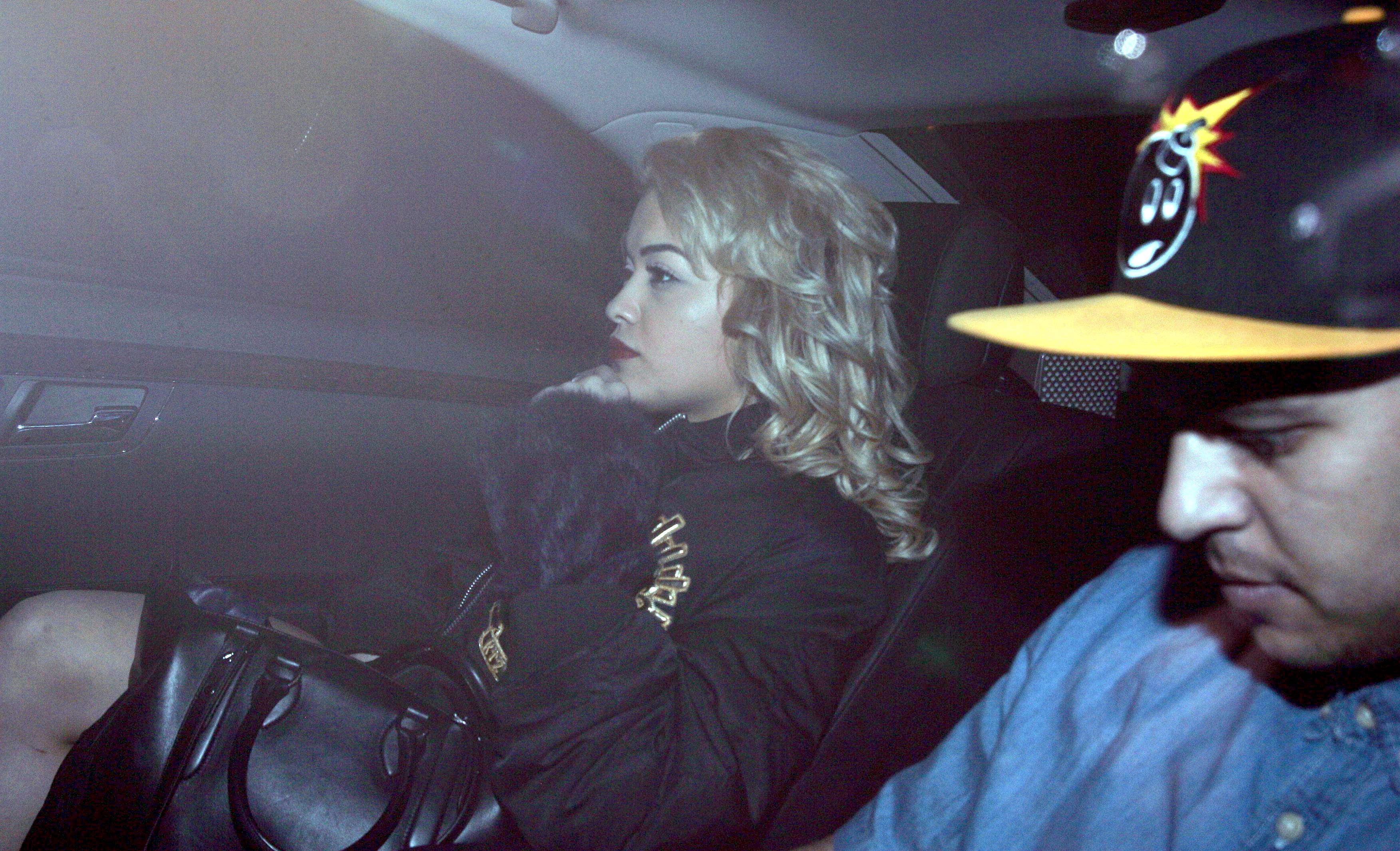 Rita Ora and Rob Kardashian