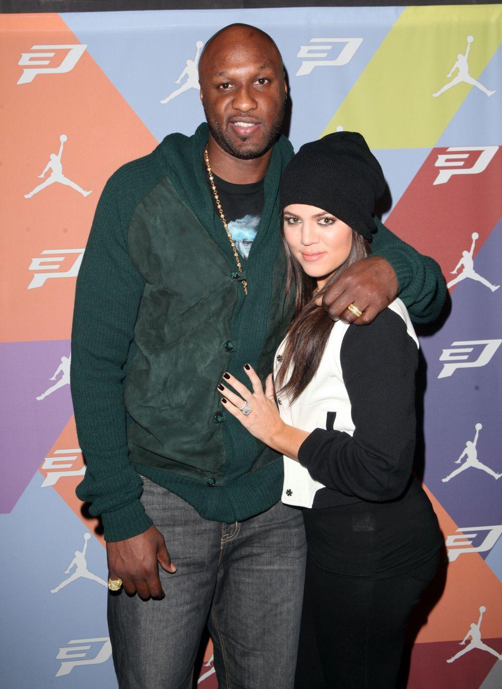 Khloe Kardashian, ex husband Lamar Odom