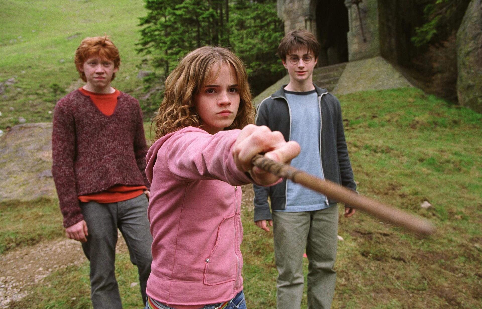 Rupert Grint, Emma Watson, Daniel Radcliffe, Harry Potter and the Prisoner of Azkaban