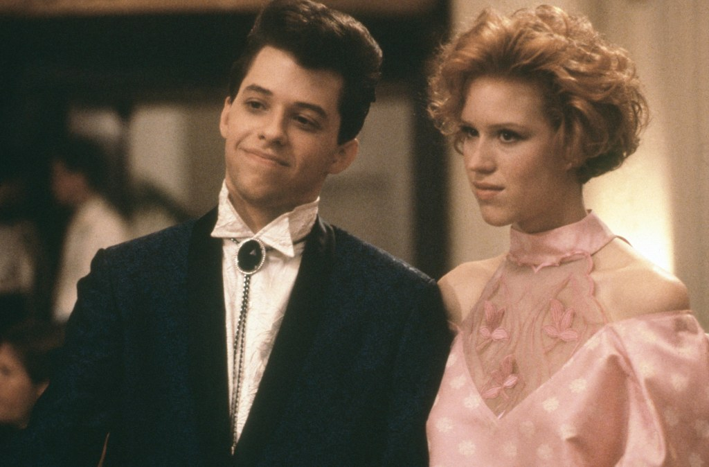Pretty In Pink, Jon Cryer and Molly Ringwald