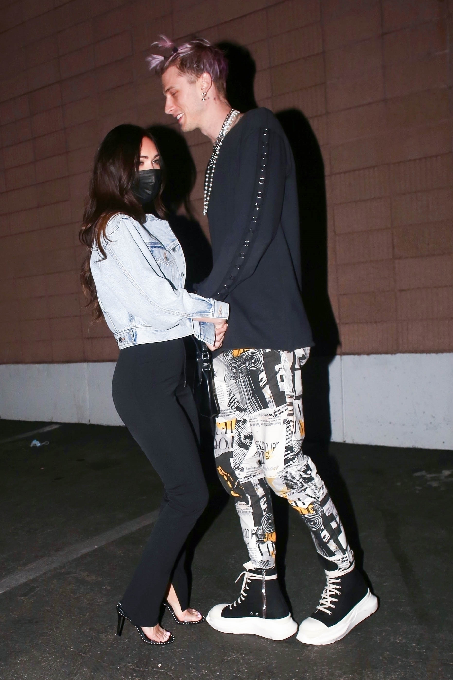 Machine Gun Kelly and Megan Fox