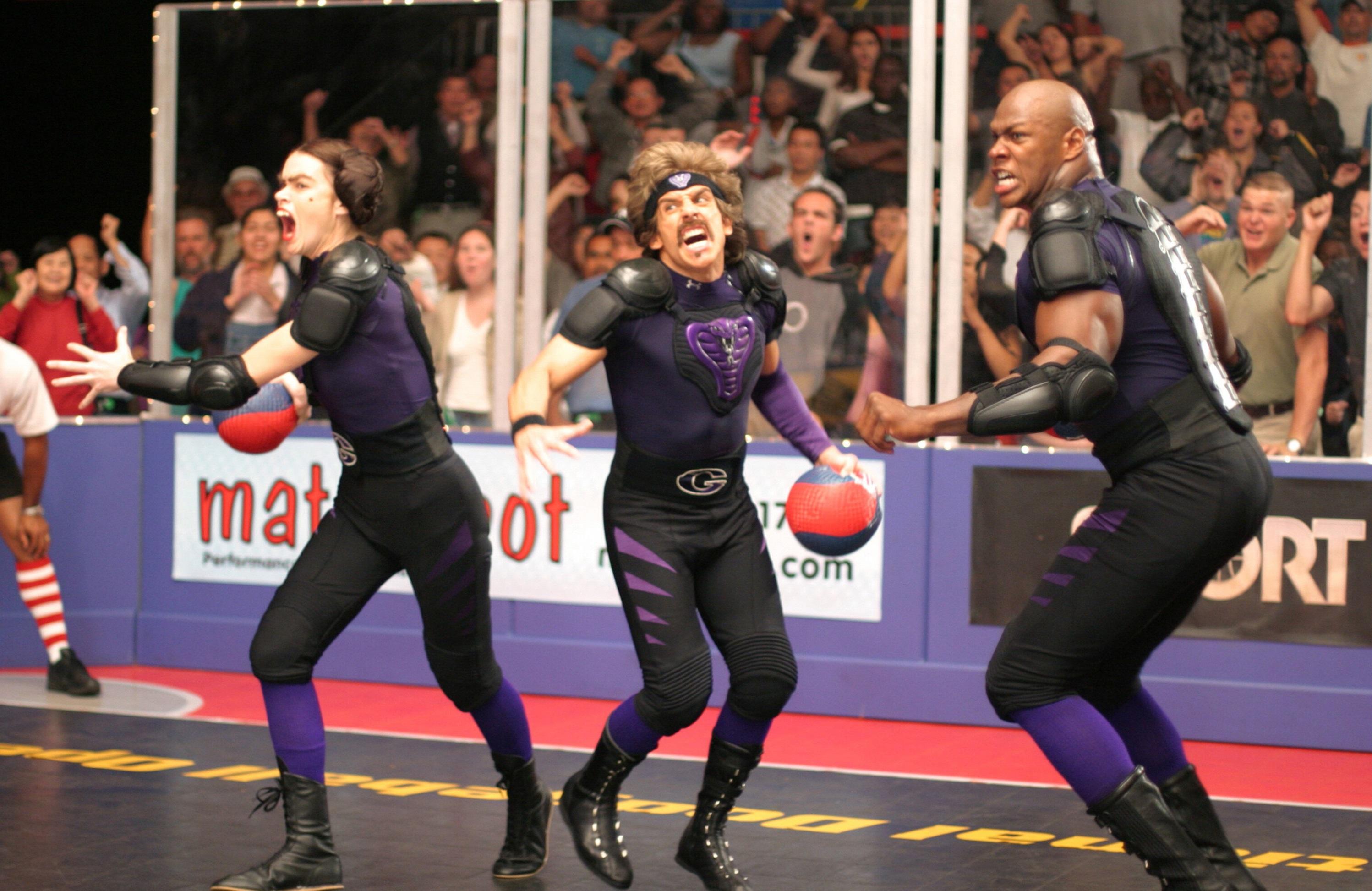 Missi Pyle, Ben Stiller, Jamal E. Duff, Dodgeball: A True Underdog Story