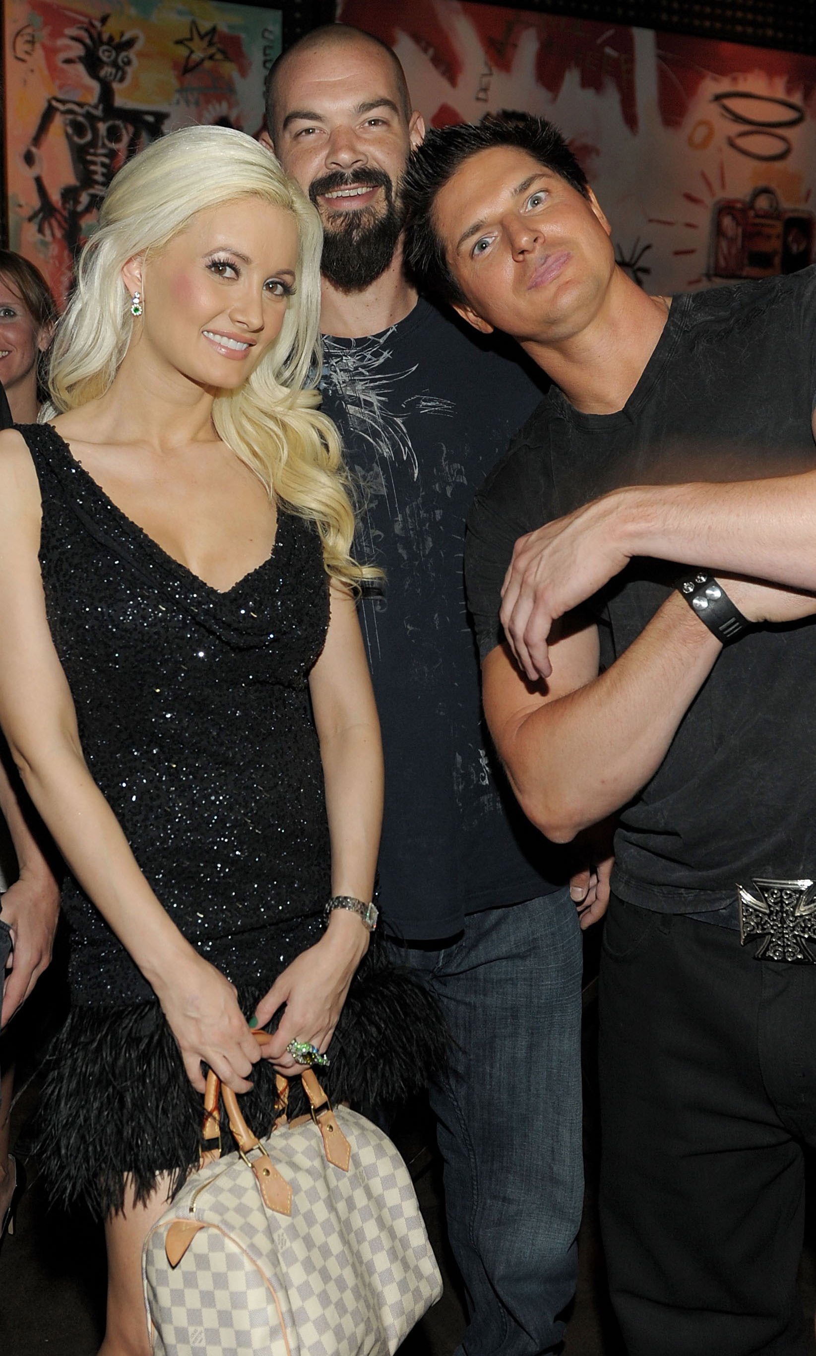 Holly Madison, ex boyfriend Zak Bagans, Aaron Goodwin