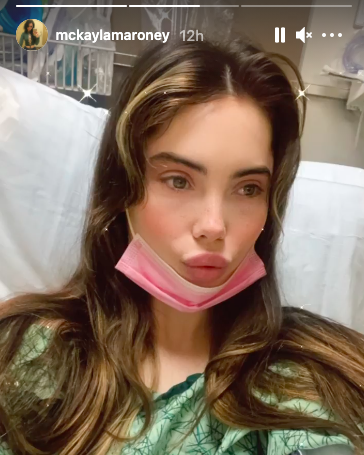 Viral Olympian Mckayla Maroney Recovering After Successful Surgery Wonderwall Com