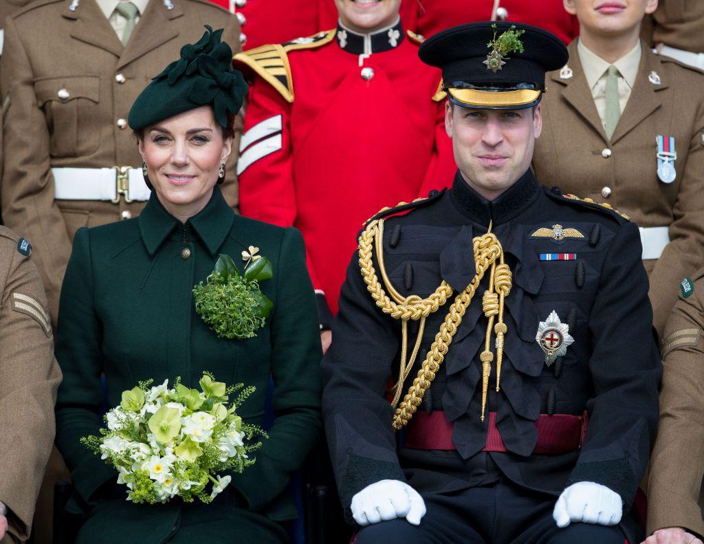 Duchess Kate Middleton, Prince William, Saint Patrick's Day
