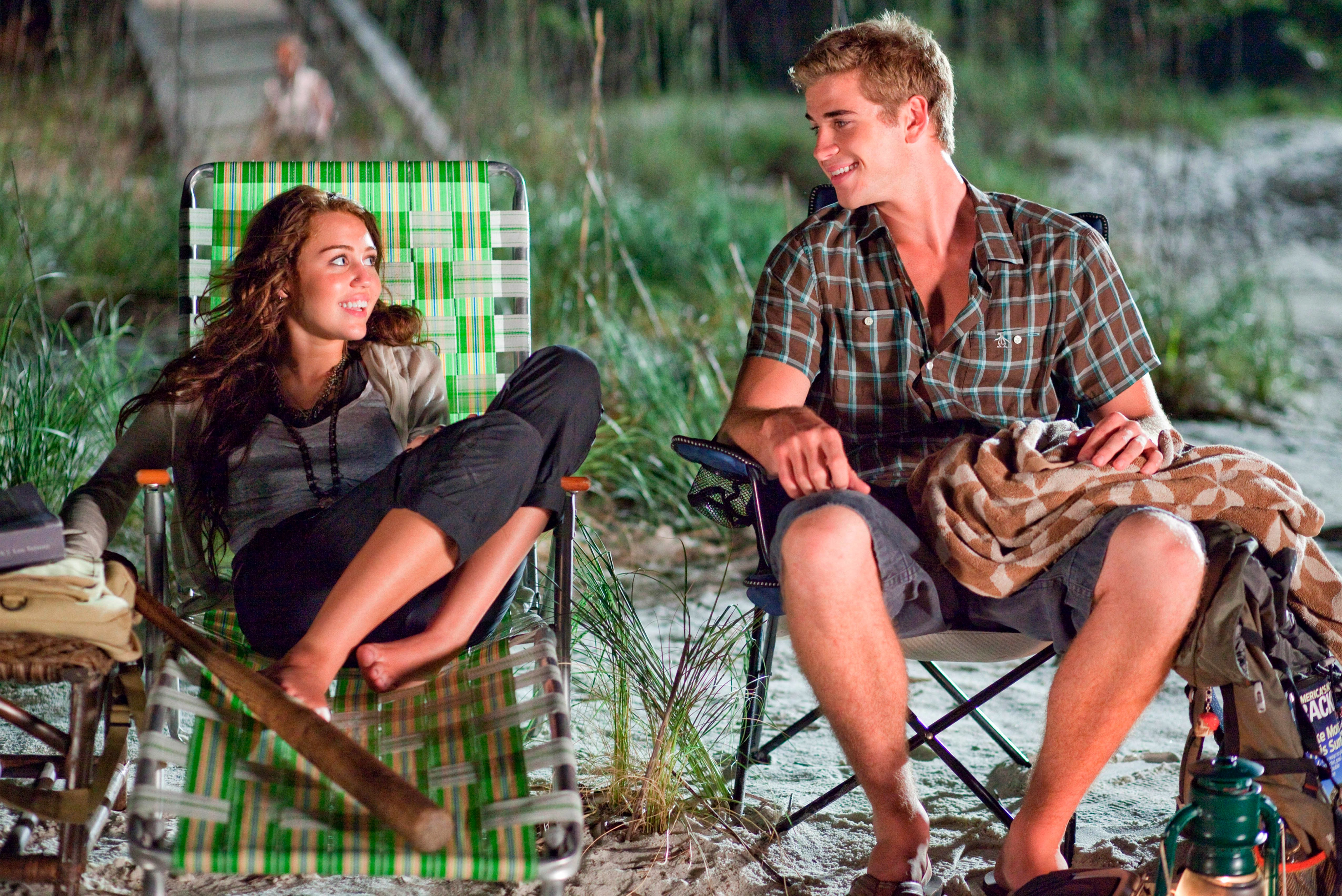 Miley Cyrus, Liam Hemsworth, The Last Song