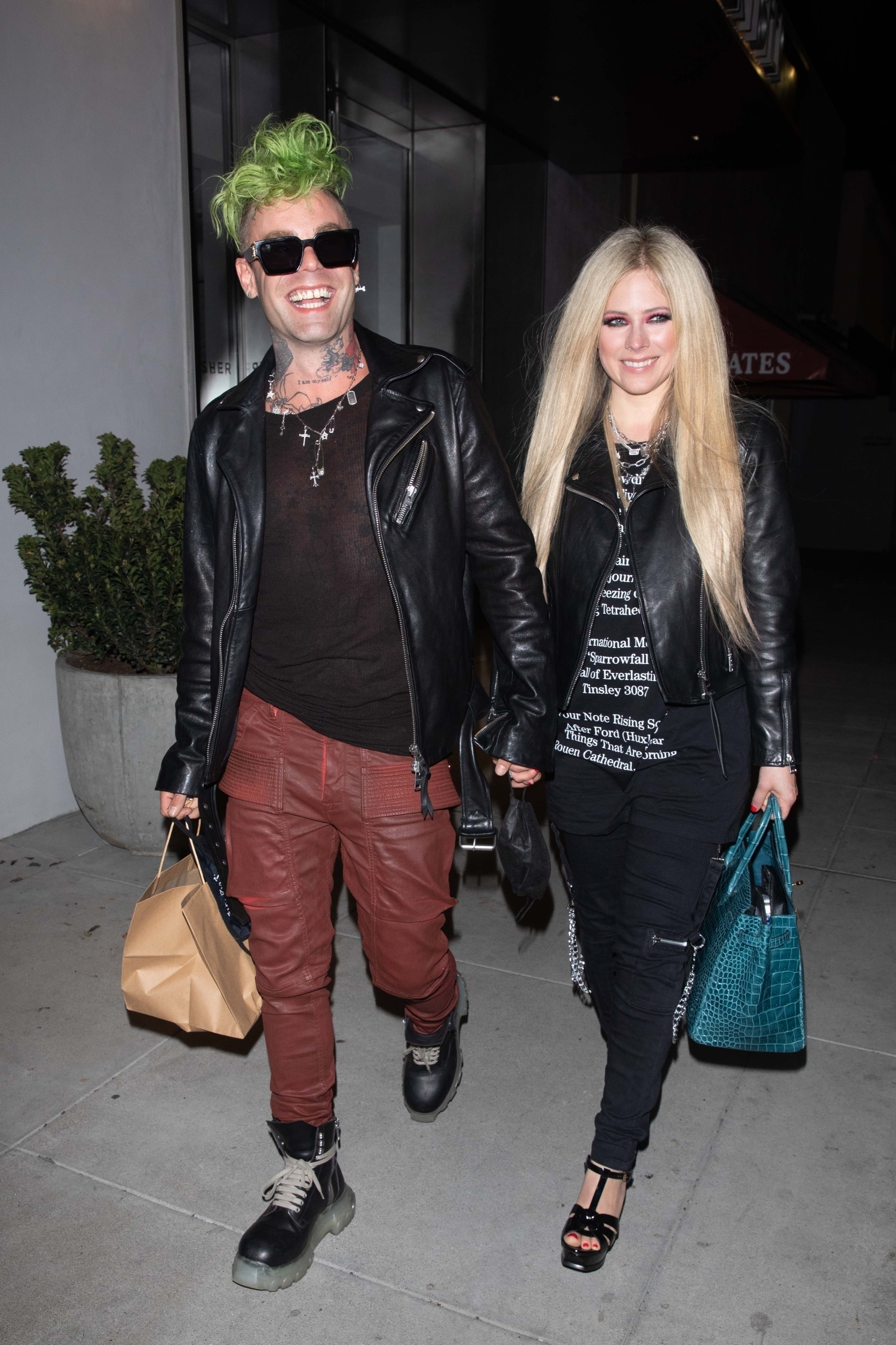 Avril Lavigne and Mod Sun