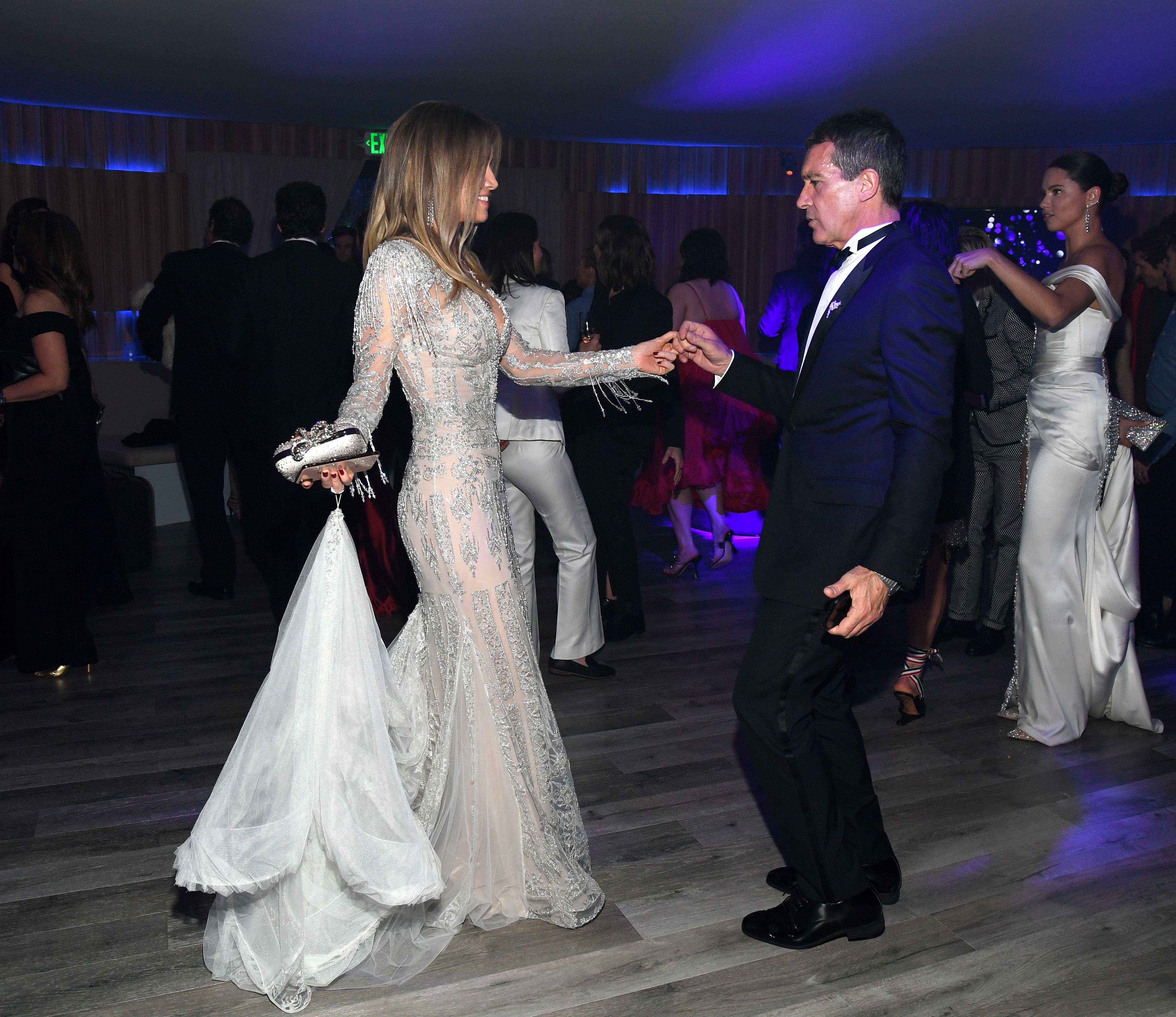 Antonio Banderas, girlfriend Nicole Kimpel