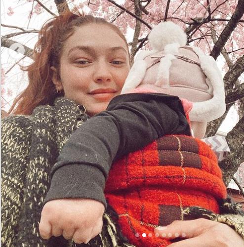 Gigi Hadid baby daughter Khai
