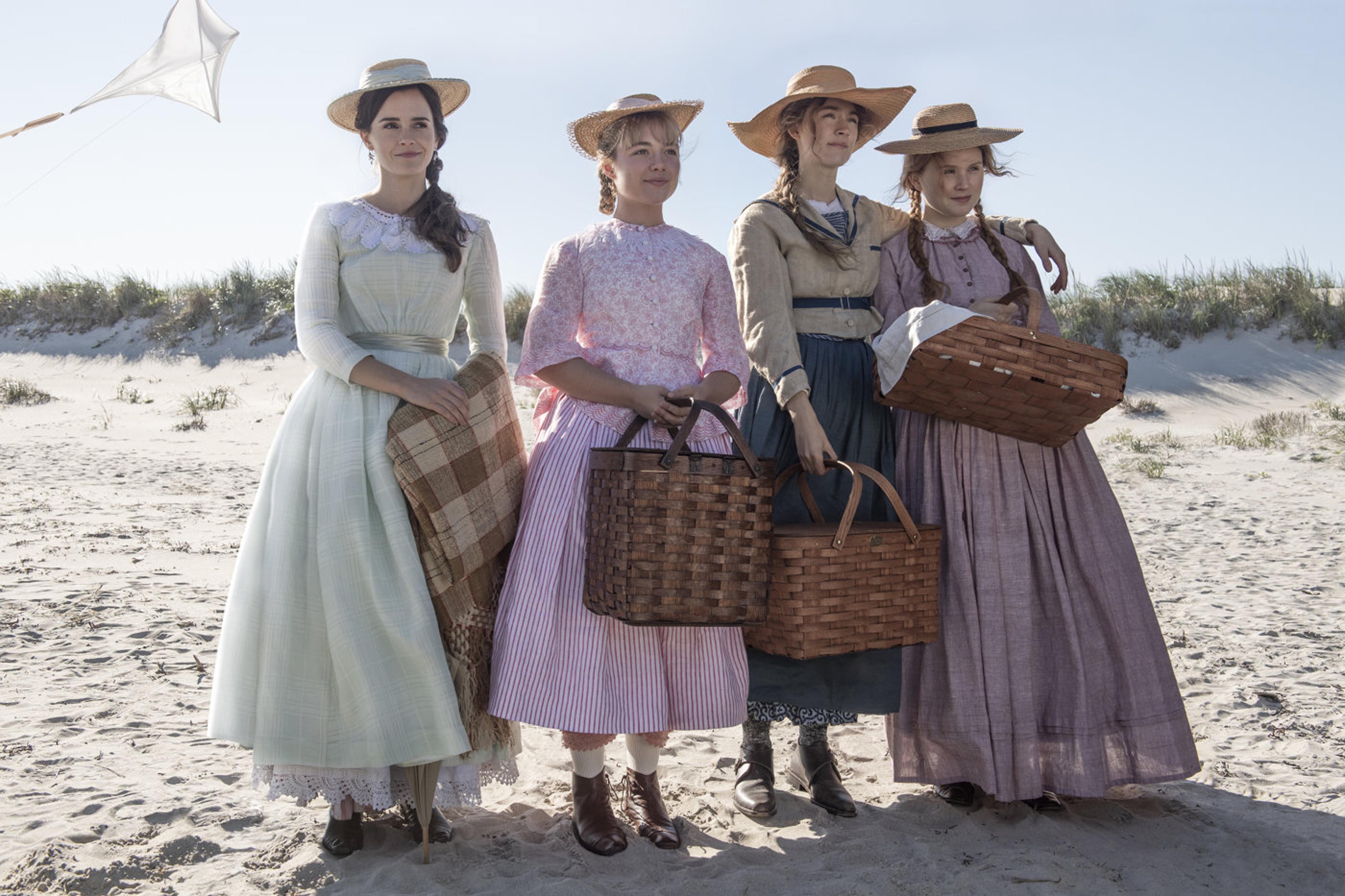 Emma Watson, Florence Pugh, Saoirse Ronan, Eliza Scanlen, Little Women