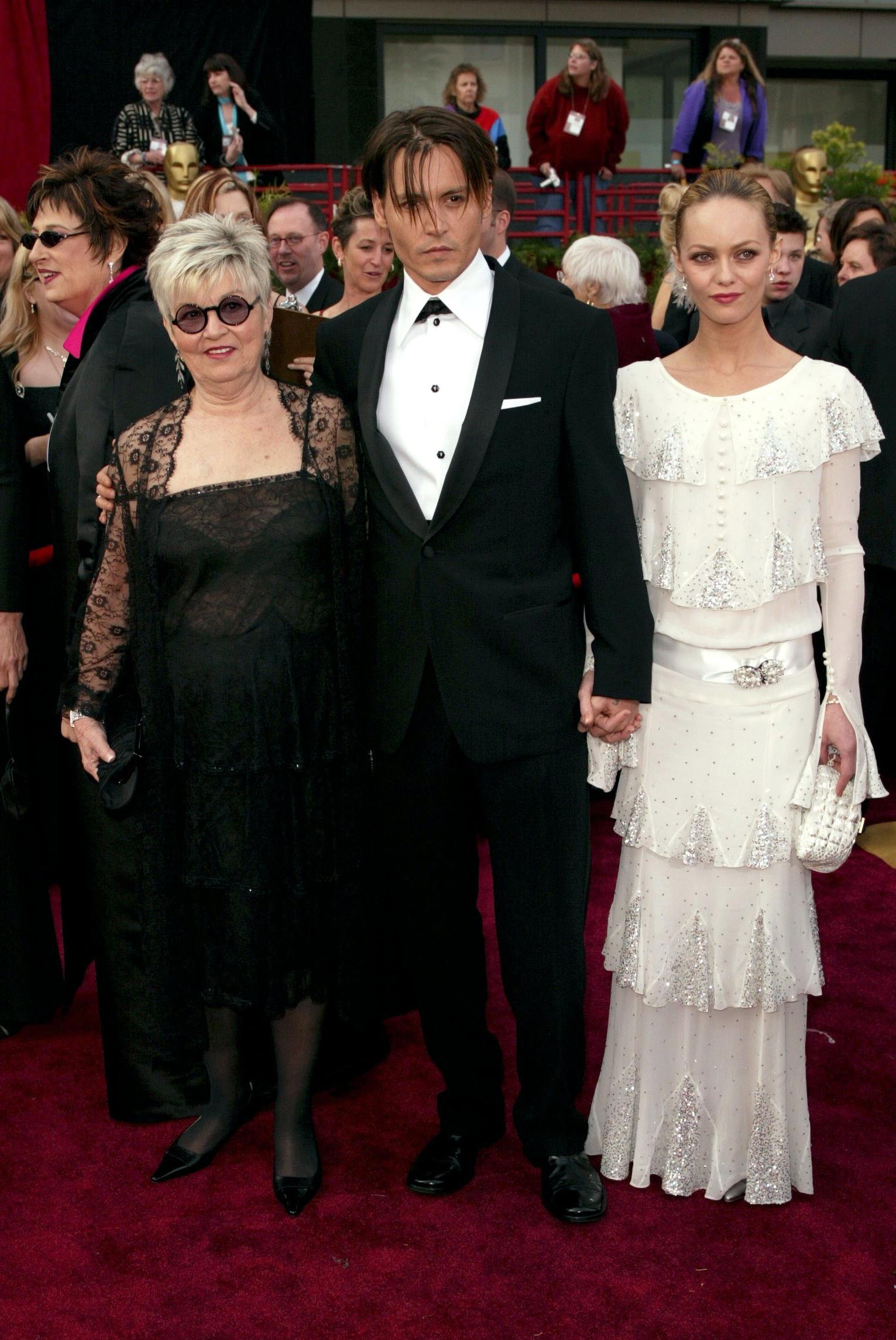 Betty Sue Palmer Johnny Depp  Vanessa Paradis
