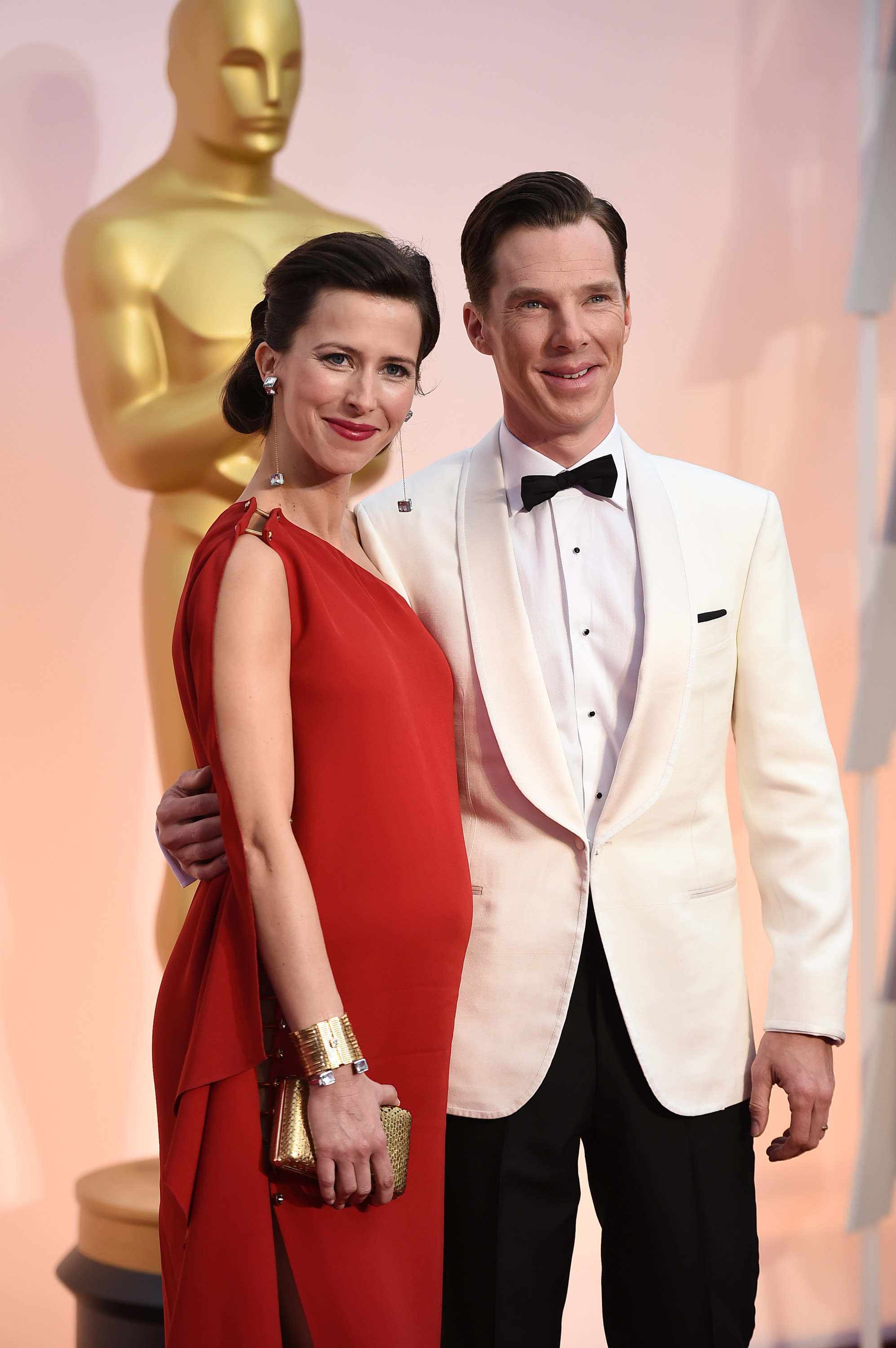 Benedict Cumberbatch, wife Sophie Hunter, Oscars