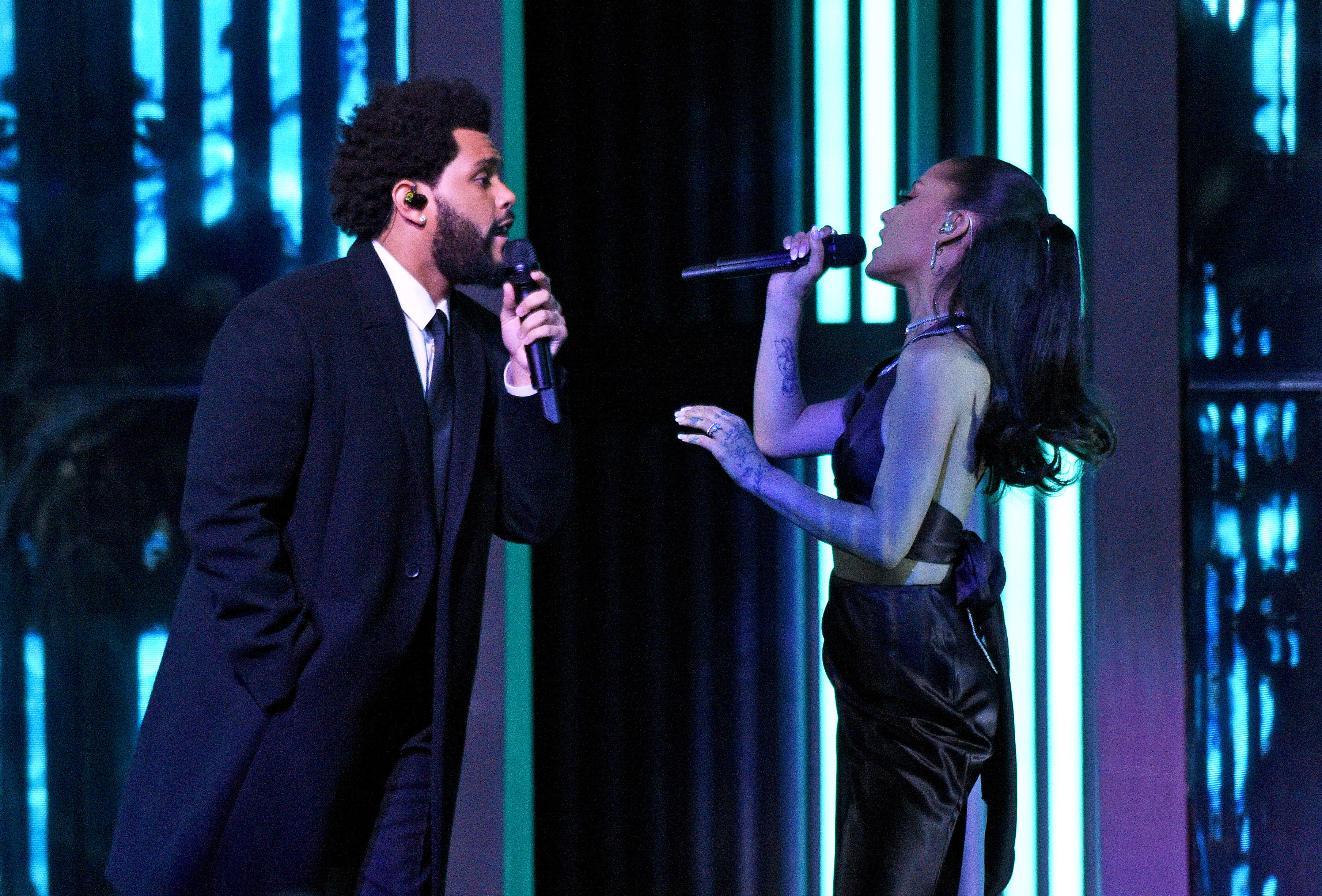 The Weeknd Arana Grande