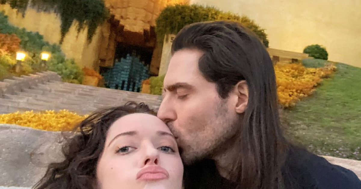 Kat Dennings and Andrew W.K. take their relationship public, more celeb couples' Instagram debuts.jpg