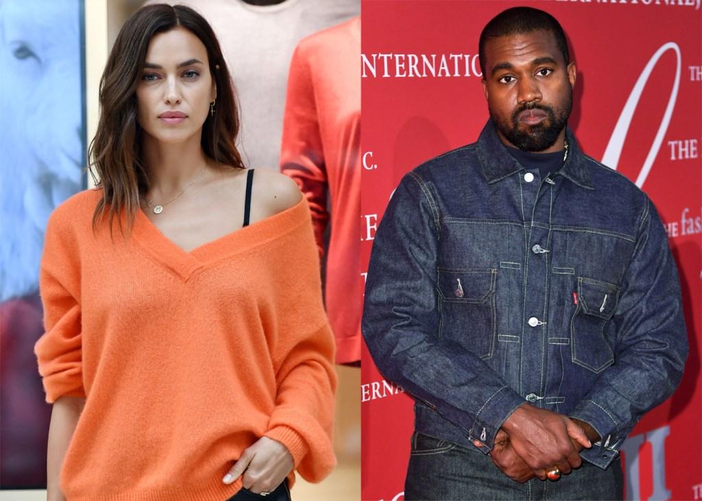 Irina Shayk, Kanye West