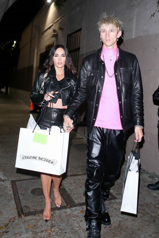 Megan Fox and beau MGK