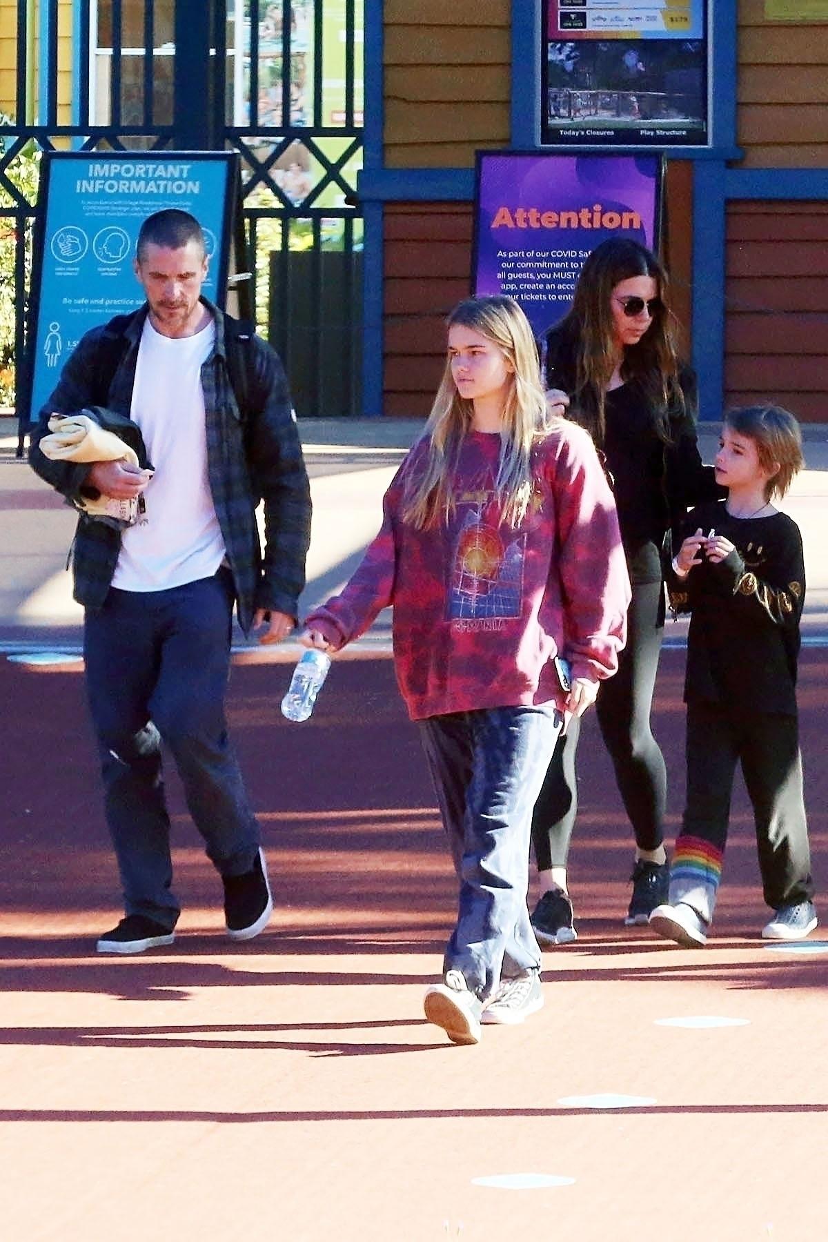 Christian Bale, Sibi Blazic, kids