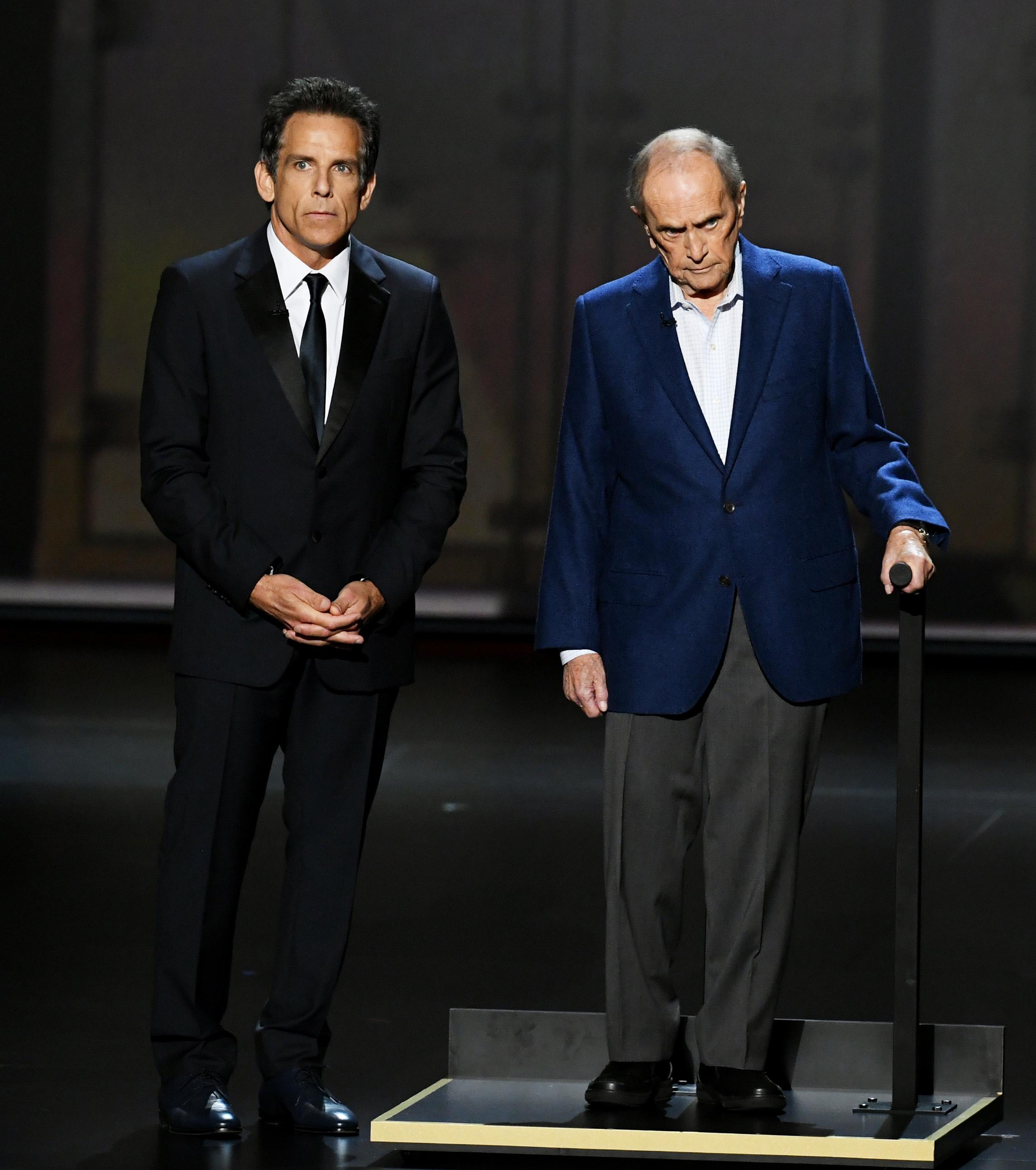 Ben Stiller and Bob Newhart