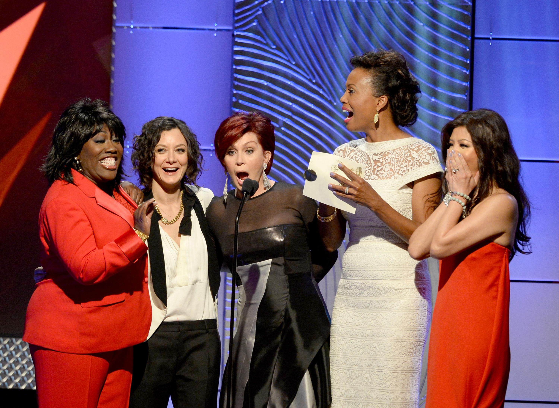 Sheryl Underwood, Sara Gilbert, Sharon Osbourne, Aisha Tyler, Julie Chen