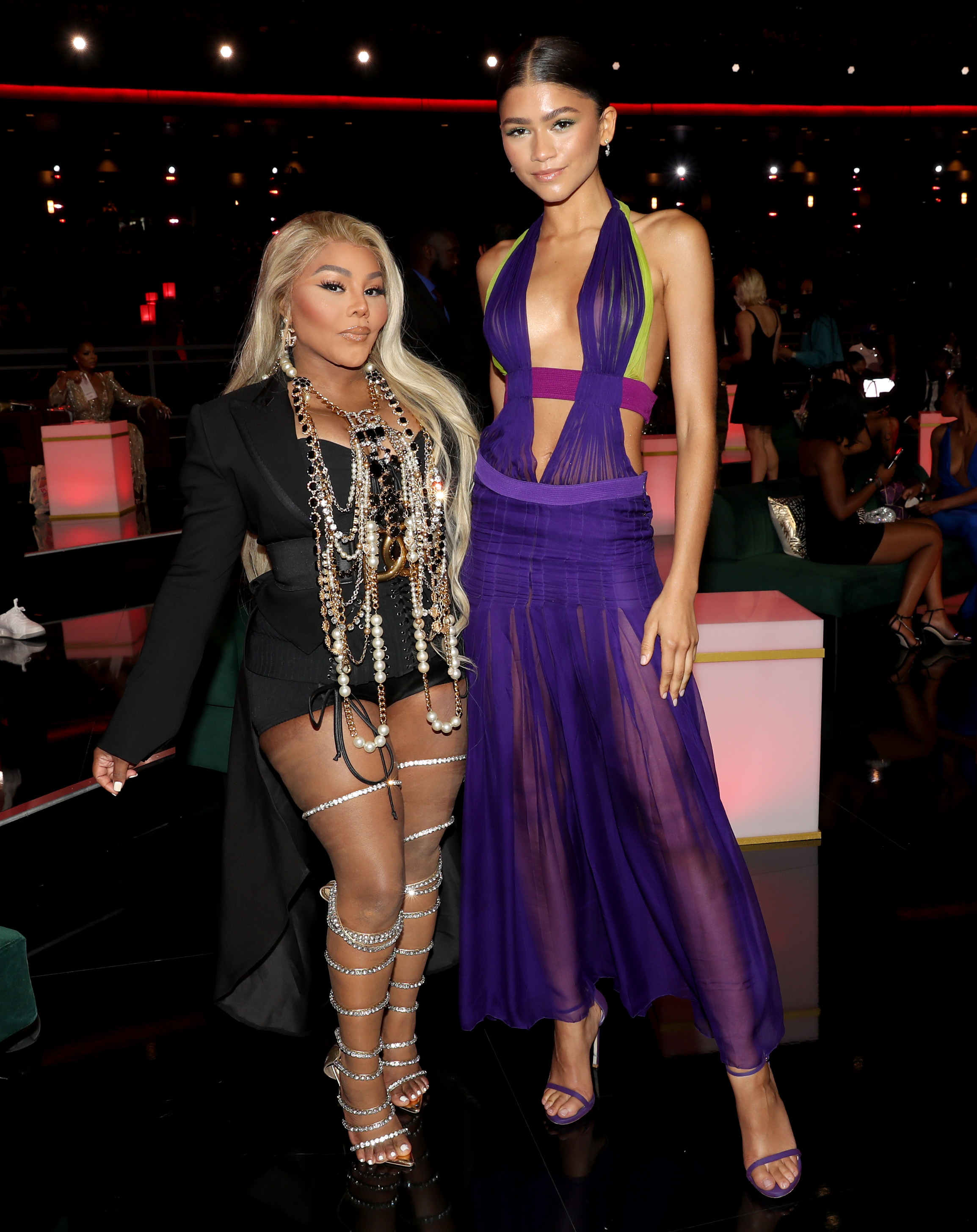 Lil' Kim and Zendaya