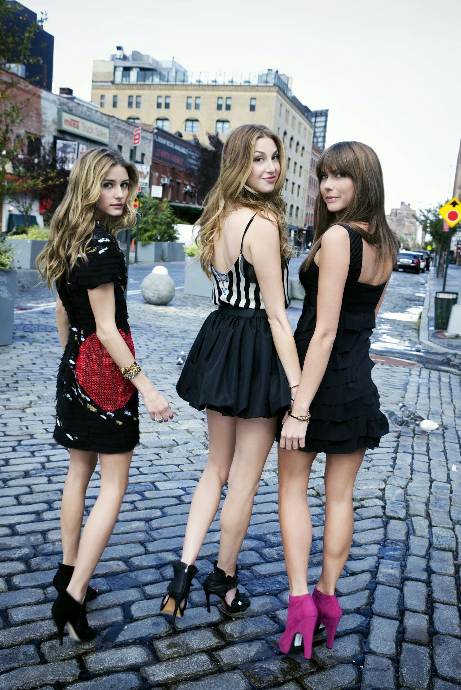 Olivia Palermo, Whitney Port, Erin Lucas
