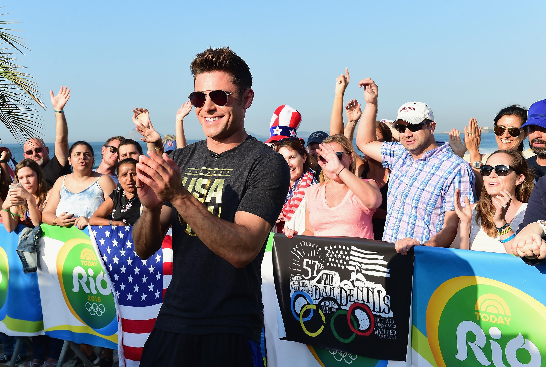 Zac Efron, Olympics