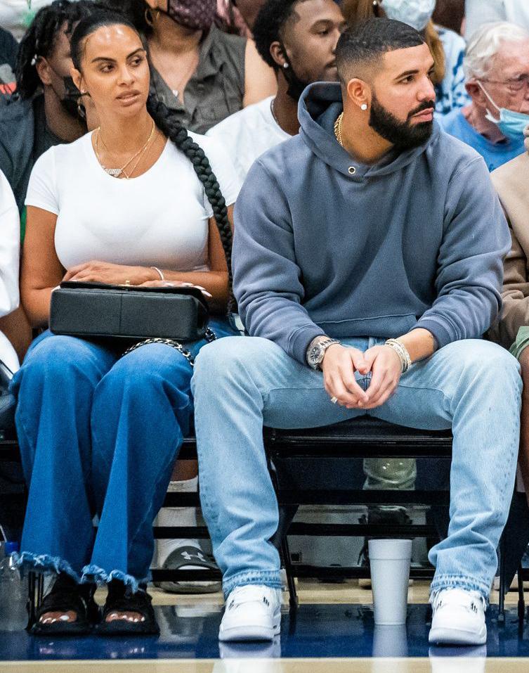 Drake, girlfriend Johanna Leia