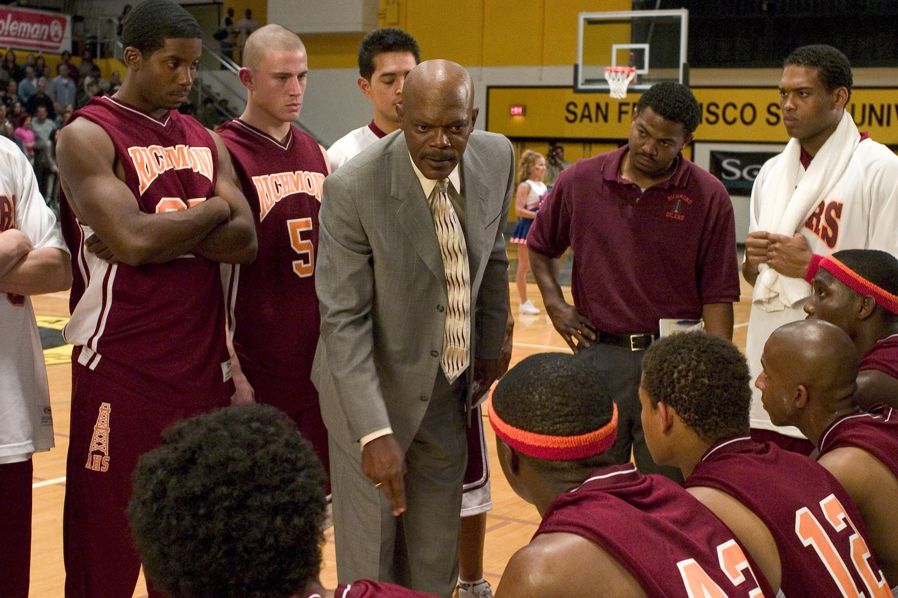 Channing Tatum, Samuel L. Jackson, Texas Battle, Coach Carter