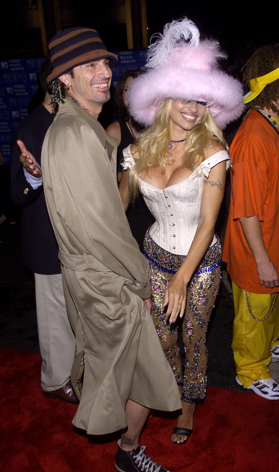Tommy Lee, Pamela Anderson, 1999 MTV VMAs