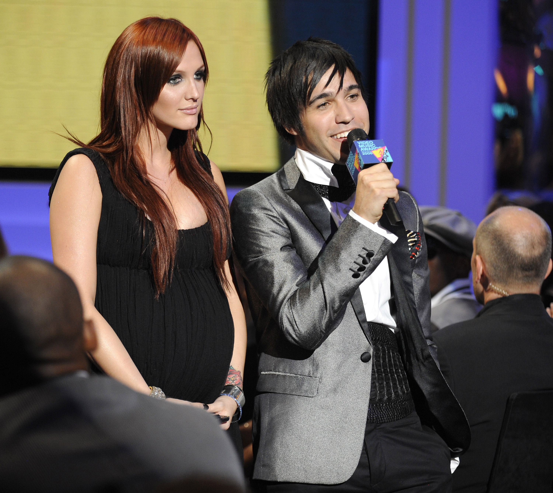 Ashlee Simpson, Pete Wentz, 2008 MTV VMAs