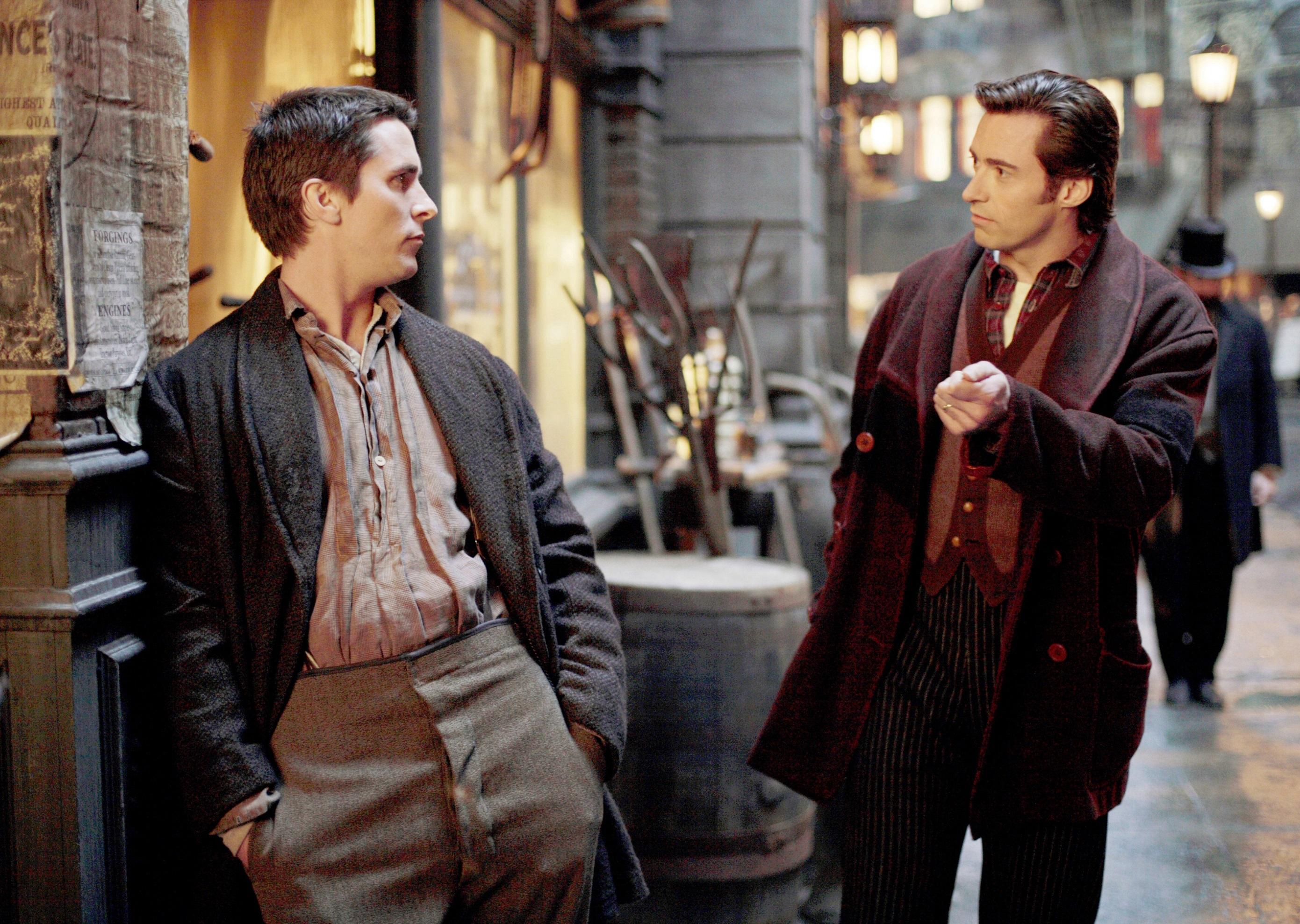 Christian Bale, Hugh Jackman, The Prestige