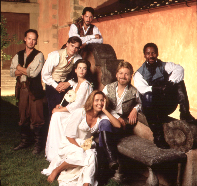 Michael Keaton, Robert Sean Leonard, Keanu Reeves, Kate Beckinsale, Emma Thompson, Kenneth Branagh, Denzel Washington, Much Ado About Nothing