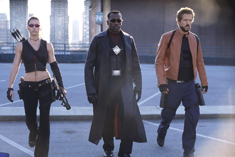 Blade Trinity, Jessica Biel, Wesley Snipes, Ryan Reynolds