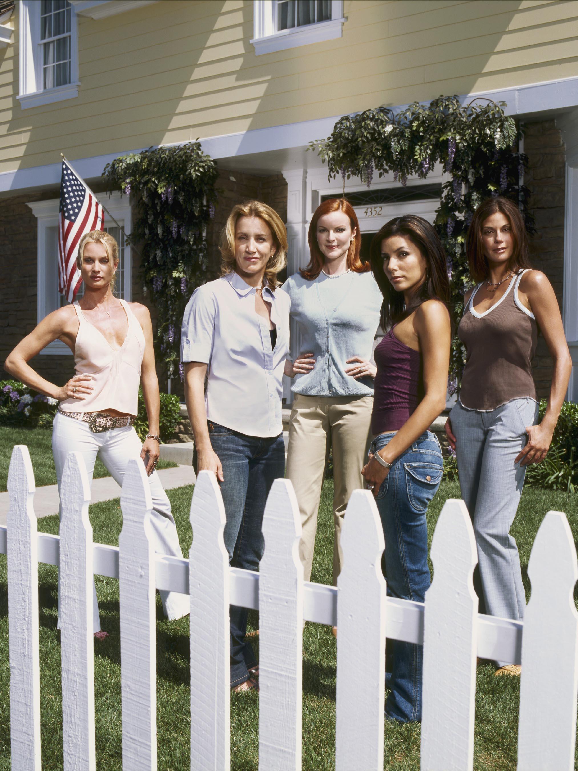 Desperate Housewives, Nicollette Sheridan, Felicity Huffman, Marcia Cross, Eva Longoria, Teri Hatcher