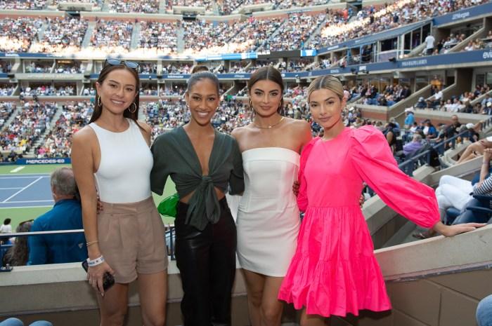 Abigail Heringer, Serena Pitt, Rachael Kirkconnell, Kit Keenan, US Open