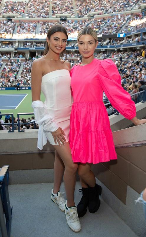 Rachael Kirkconnell, Kit Keenan, US Open