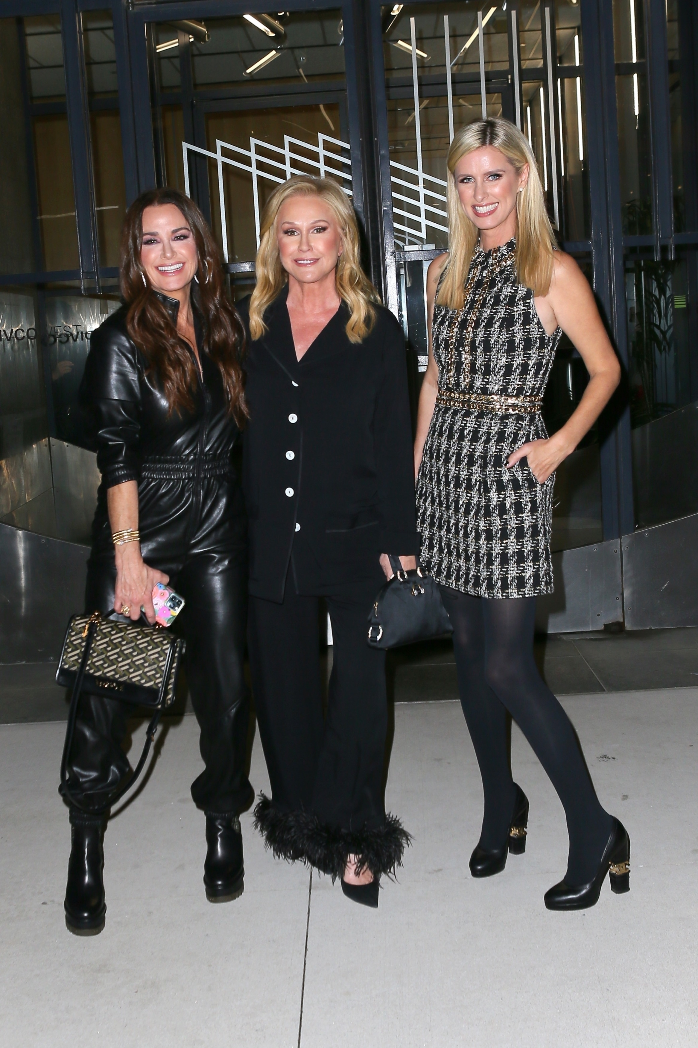 Kyle Richards, Kathy Hilton and Nicky Hilton