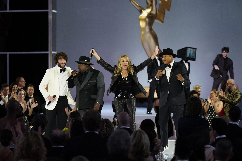 Cedric The Entertainer, Rita Wilson, LL Cool J, Emmys